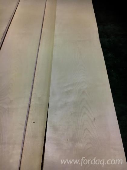 天然木皮单板, 枫, 平切,平坦