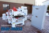 Four-side planing machine REX AE 5084, 4-sided, ideal for wet wood