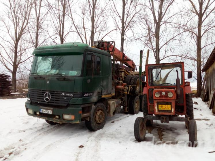 Road Freight for Long Logs