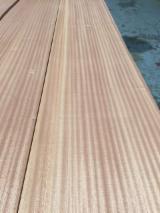 Wholesale Wood Veneer Sheets - Sapelli  Flat Cut, Plain Natural Veneer Spain
