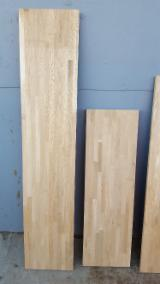 Edge Glued Panels Glued Discontinuous Stave  For Sale - FJC Oak Panels