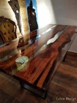 Office Furniture - Epoxy and Wood Meeting Rooms Tables
