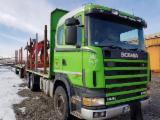 Oprema Za Šumu I Žetvu Kamion Za Prevoz Kraćih Stabala - Kamion Za Prevoz Kraćih Stabala Scania Polovna Rumunija
