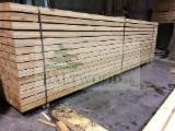 Sawn Softwood Timber  - Edged Spruce Lumber 16+ mm