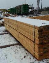 Softwood Timber - Sawn Timber Supplies - 23-50 mm Shipping Dry (KD 18-20%) Siberian Larch Russia Красноярский Край