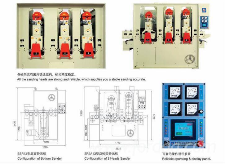 Neu Schleifmaschinen Mit Schleifzylinder Zu Verkaufen China