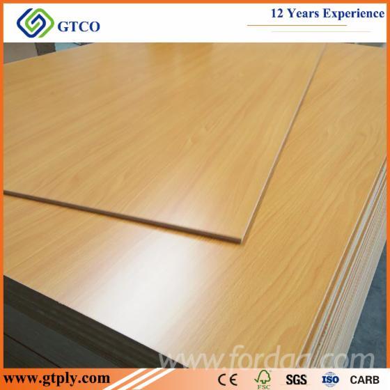 MDF Decoration / Furniture Melamine Board