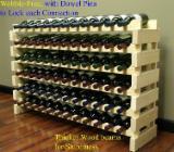 Mobilă de bucătărie - Cumpar Depozitare Vinuri Tradiţional Foioase Europene Stejar, Nuc