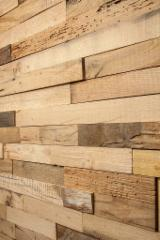 Find best timber supplies on Fordaq - Oak Reclaimed Wood Wall Panel