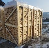 Find best timber supplies on Fordaq - LAZAROI COMPANY SRL - Beech Firewood Cleaved 6-14 cm