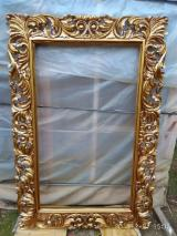 Bedroom Furniture For Sale - Antique Gilded Mahogany Mirror Frame