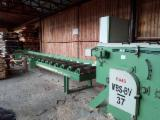 MS-Maschinenbau Woodworking Machinery - Used MS-Maschinenbau -- 2014 Gang Rip Saws With Roller Or Slat Feed For Sale Romania