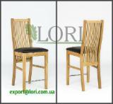 Chaise bar en chêne SANDRA