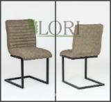 Office Furniture - Oak, Metal Bergamo Chairs