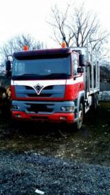 Oprema Za Šumu I Žetvu Kamion Za Prevoz Dužih Stabala - Kamion Za Prevoz Dužih Stabala Foden Polovna Rumunija