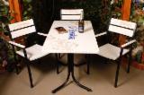 Meubles Pour Collectivités À Vendre - Vend Chaises De Terrasse De Restaurant Design Résineux Européens Pin (Pinus Sylvestris) - Bois Rouge, Epicéa (Picea Abies) - Bois Blancs