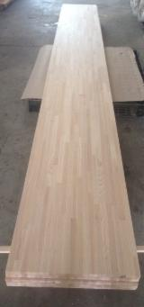 Solid Wood Panels - PEFC Solid Wood White Ash Edge Glued Panels, 18-45 mm thick