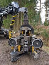 Forstmaschinen Zu Verkaufen - Harvester Ponsse Ergo 6WD Aggregat H73 E Vollernter