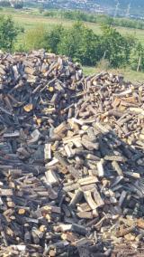 Energie- Und Feuerholz - Eiche, Zerreiche Brennholz Gespalten 13 cm