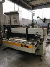 A. Costa Woodworking Machinery - Multiblades rip saw for Grooving and Cutting Panels A.COSTA mod. ZEFIRO