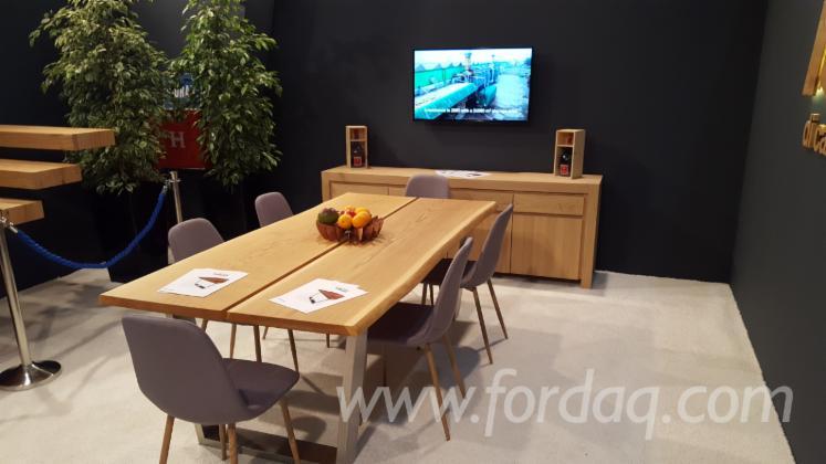 Vend Table De Salle À Manger Design Feuillus Européens Chêne