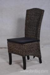 Chaise De Salle À Manger à vendre - Vend Chaise De Salle À Manger Colonial Feuillus Asiatiques Bambou