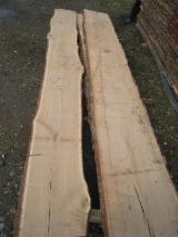 Hardwood  Unedged Timber - Flitches - Boules - KD Oak Loose Lumber 22 mm