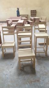 Mobili Africa - Vendo Sedie Per Bar Tradizionale Legno Tropicale Africano Movingui (Ayan, Barre)