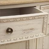 Depozitare - Comoda cu 2 sertare din lemn de paulownia.