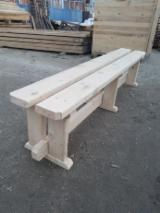 Garden Benches for sale. Wholesale exporters - Contemporary Fir (Abies Alba) Garden Benches Romania