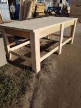 Buy Or Sell  Garden Benches - Contemporary Fir (Abies Alba) Garden Benches Romania