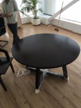 Muebles Africa - Venta Mesas Tradicional Madera Africana Movingui (Ayan, Barre) Gabón