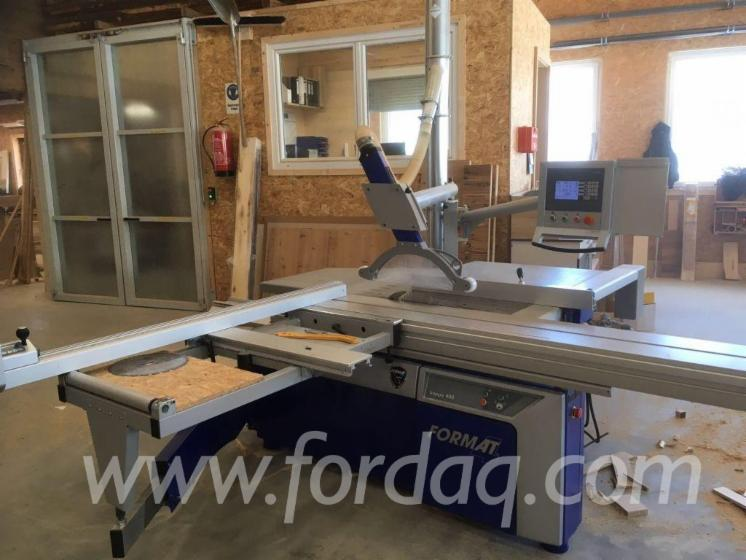 Used-FORMAT-4-Kappa-400-X-motion-2012-Circular-Saw-For-Sale