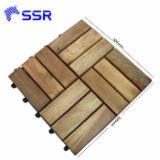 FSC Acacia Interlocking Deck Tiles