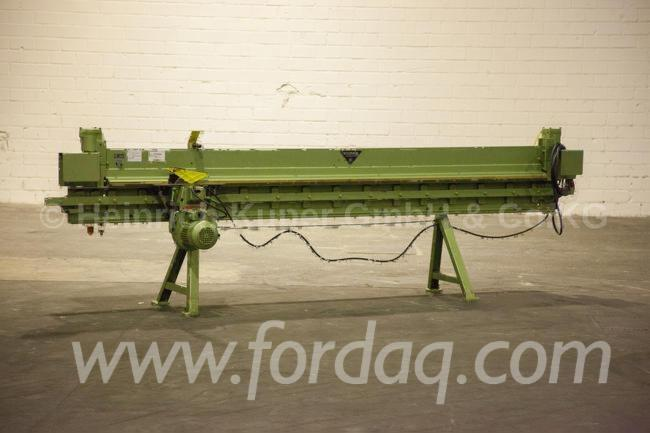 Used-SCHEER-FM-5-3100-Circular-Saws-For-Veneer-Packs-For-Sale
