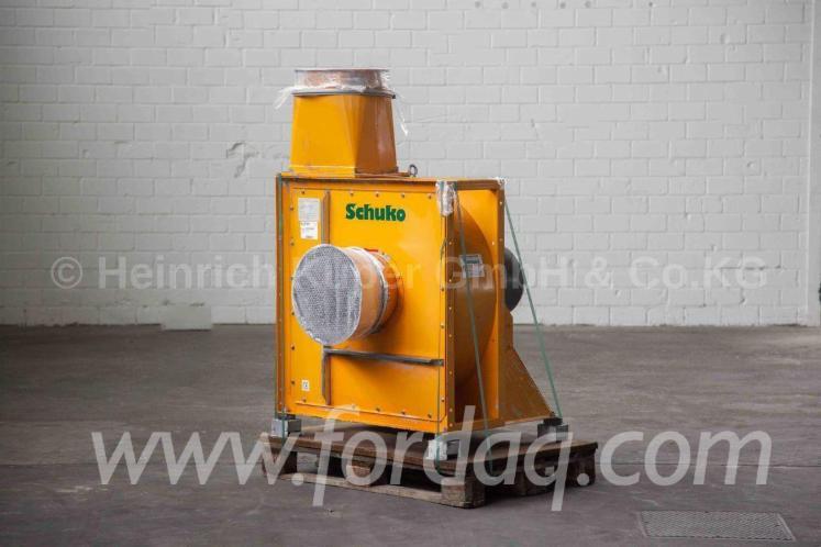 Вентилятор SCHUKO S 400/O/L2 Б / У Німеччина Для Продажу
