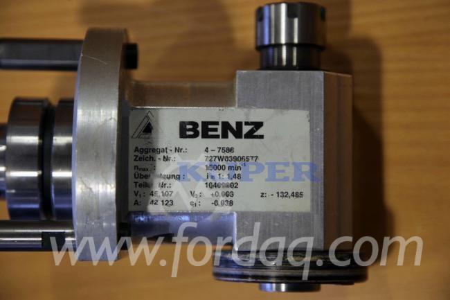 Venta CNC Centros De Mecanizado - Otros Benz HSK 63 F Usada Alemania
