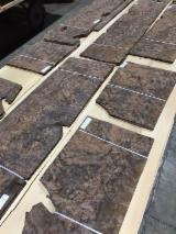 木皮和单板 - 天然单板, 加州红松, 树节