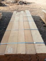 Hardwood  Sawn Timber - Lumber - Planed Timber - Teak Beams 52 mm KD F1
