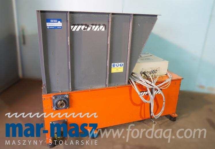 Used-WEIMA-WL-5-Shredder-for-Grinding