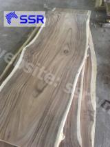 Find best timber supplies on Fordaq - SSR Vietnam - Raintree / Saman Table Top Slabs