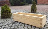 Muebles Europa - Venta Florero-Plantera Madera Dura Europea Polonia