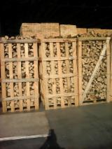 Firewood, Pellets And Residues Firewood Woodlogs Cleaved - KD Beech Firewood Cleaved