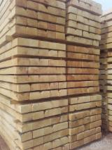 Railway Sleepers Sawn Timber - Rustique Oak Railway Sleepers 12, 13 cm