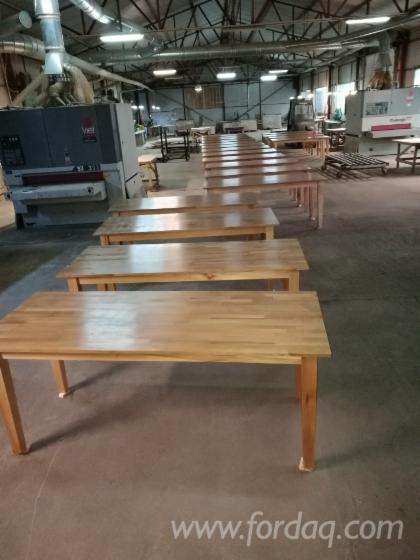 Solid Oak Restaurant Tables