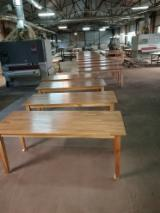 Muebles - Venta Mesas De Restorán Tradicional Madera Dura Europea Roble Arad Rumania