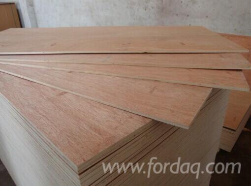 Commercial Eucalyptus Plywood