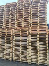Pallets, Packaging And Packaging Timber Europe - New Pine Industrial Pallets