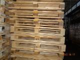 Paletten - Verpackung Gesuche - Ladepalette, Wiederaufbereitet - Gebraucht, In Guten Zustand