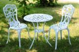 Garden Furniture - New Design Cast Aluminum Bistro Bar Set